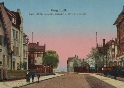 AK_Burg-Kaiser-Wilhelm-Straße-Kaserne-und-Offiziers-Kasiono
