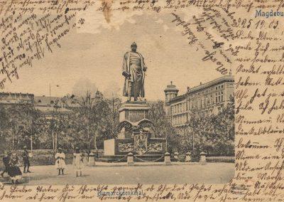 AK_Magdeburg-Bismarckdenkmal