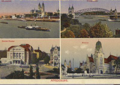 AK_Magdeburg-Elbansicht-Königsbrücke-Theater-Museum