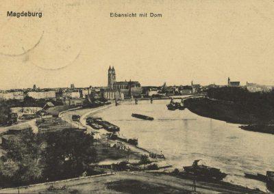 AK_Magdeburg-Elbansicht-mit-Dom