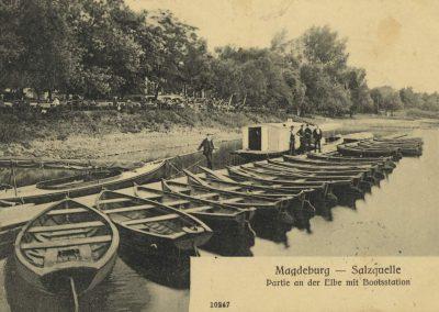 AK_Magdeburg-Salzquelle-Partie-an-der-Elbe-mit-Bootsstation