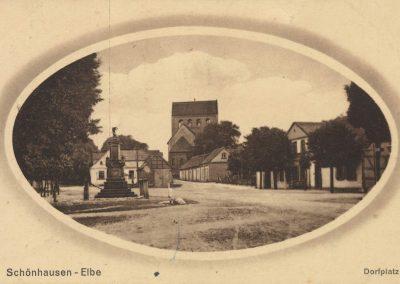 AK_Schönhausen-Dorfplatz