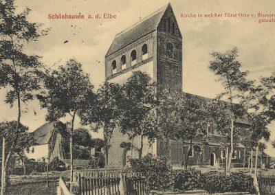 AK_Schönhausen-Kirche-Taufe-Fürst-Otto-von-Bismarck