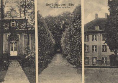 AK_Schönhausen-Schlossparkpartien