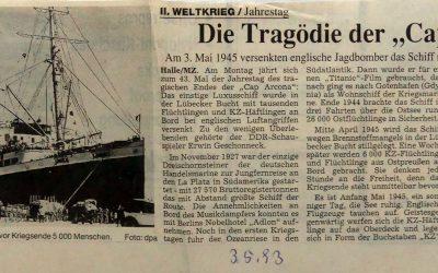 """Die Tragödie der """"Cap Arcona"""""""