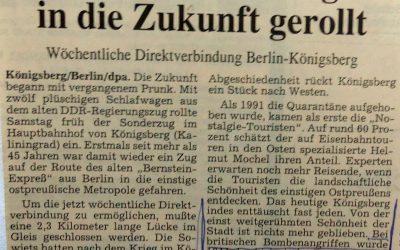 Mit DDR-Nobelwagen in die Zukunft gerollt
