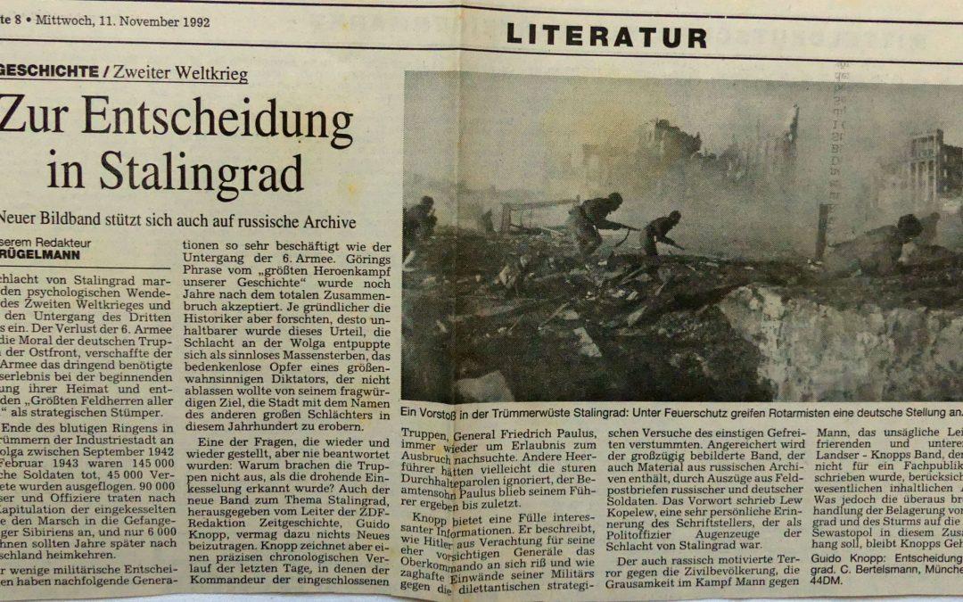 Zur Entscheidung in Stalingrad
