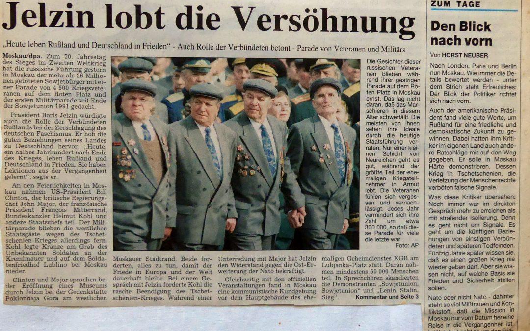 Jelzin-Versöhnung