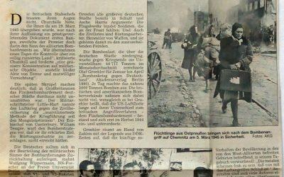 Als der Krieg auch in deutsche Städte einfiel