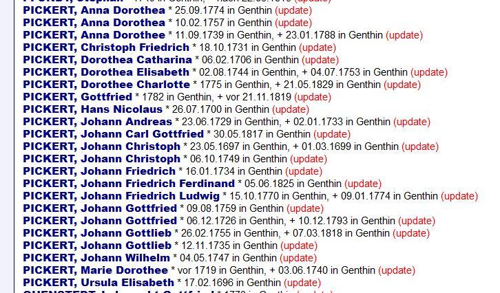 Update OFB Genthin Januar 2021 – Pickert in Genthin