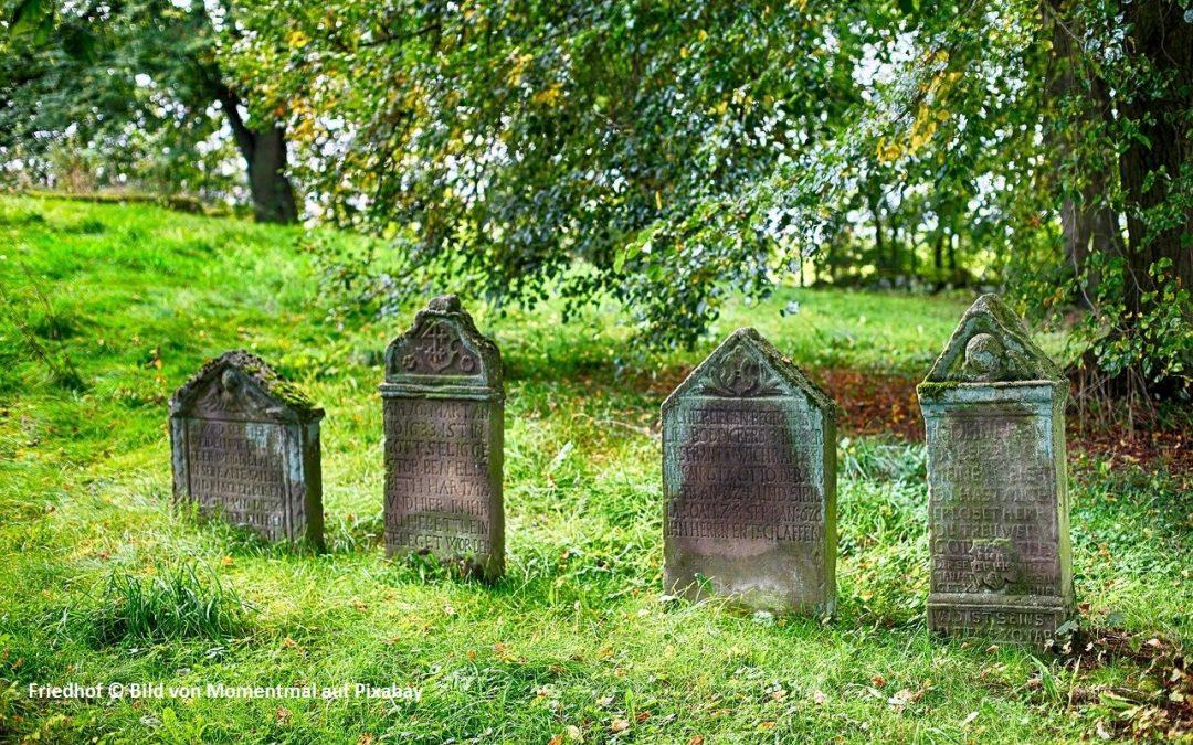 Der Streit um die Toten und das liebe Geld