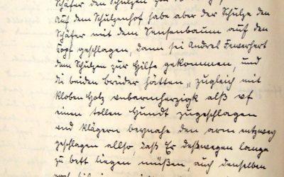 Schlägerei 1658 zwischen Schäfer und Schulzen in Karow