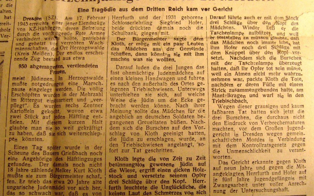 Vierzehnjährige wurden zu Mördern – Eine Tragödie aus dem Dritten Reich kam vor Gericht